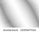 abstract halftone wave dotted... | Shutterstock .eps vector #1035647416