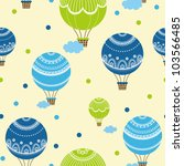background with hot air... | Shutterstock .eps vector #103566485