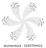 call curl burst. object cyclone ... | Shutterstock .eps vector #1035704422