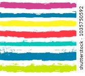 vector striped summer pattern.... | Shutterstock .eps vector #1035750592