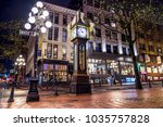 steam clock  gastown  vancouver ... | Shutterstock . vector #1035757828