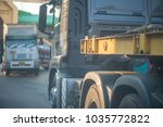 truck is waiting for loading... | Shutterstock . vector #1035772822