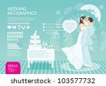 Infographic Wedding Vector Set