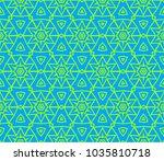 traditional geometric seamless... | Shutterstock .eps vector #1035810718