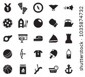 solid black vector icon set  ... | Shutterstock .eps vector #1035874732