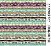 boho style. ethnic seamless... | Shutterstock . vector #1035882832