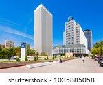 madrid  spain   september 21 ... | Shutterstock . vector #1035885058