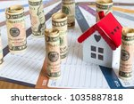 real estate and mortgage... | Shutterstock . vector #1035887818