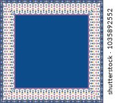 classic floral frame. elegance... | Shutterstock . vector #1035892552