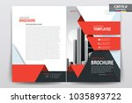 front and back cover of a...   Shutterstock .eps vector #1035893722