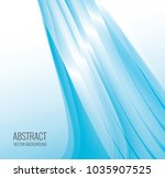 abstract wave background | Shutterstock .eps vector #1035907525