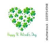happy st. patricks day vector... | Shutterstock .eps vector #1035914548