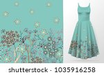 cute pattern in small simple... | Shutterstock .eps vector #1035916258