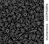 vector seamless pattern with... | Shutterstock .eps vector #1035950896