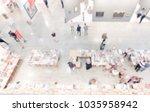 view of an art gallery....   Shutterstock . vector #1035958942