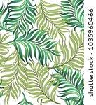 exotic tropical vector... | Shutterstock .eps vector #1035960466