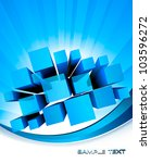 abstract blue background....   Shutterstock .eps vector #103596272