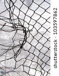 metal fence | Shutterstock . vector #103597862