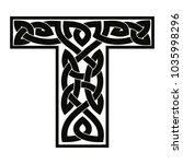 letter of the english alphabet... | Shutterstock .eps vector #1035998296