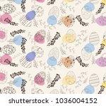 easter greeting card   Shutterstock .eps vector #1036004152