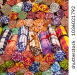 vivid color of more roll...   Shutterstock . vector #1036021792