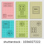 collection of sale banners ... | Shutterstock .eps vector #1036027222