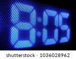 digital clock panel close up   Shutterstock . vector #1036028962