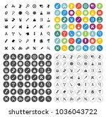repair tools icons set  ... | Shutterstock .eps vector #1036043722