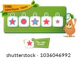 educational game for kids and... | Shutterstock .eps vector #1036046992