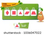educational game for kids and... | Shutterstock .eps vector #1036047022