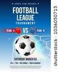 football league tournament... | Shutterstock .eps vector #1036050715