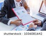 business concept  business man... | Shutterstock . vector #1036081642