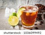 espresso tonic  refreshment... | Shutterstock . vector #1036099492