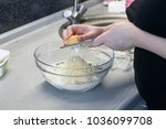 making cupcakes. photo of... | Shutterstock . vector #1036099708