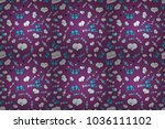 repeating texture. pattern for... | Shutterstock . vector #1036111102