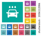 car wash multi colored flat... | Shutterstock .eps vector #1036112086