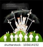 building site background   Shutterstock .eps vector #103614152