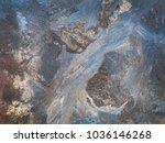 tracery of frost on window....   Shutterstock . vector #1036146268