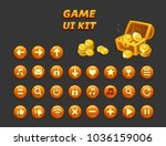 game ui set. gui to build 2d...