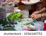 krabi  thailand   jan 28  2018  ... | Shutterstock . vector #1036160752