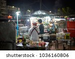 krabi  thailand   jan 28  2018  ... | Shutterstock . vector #1036160806