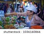krabi  thailand   jan 28  2018  ... | Shutterstock . vector #1036160866