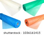 a set of fiberglass netting ... | Shutterstock . vector #1036161415