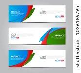 azerbaijan flag ribbon banner...   Shutterstock .eps vector #1036186795
