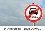 Small photo of sign diesel driving ban