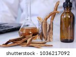 herbal medicine extract from... | Shutterstock . vector #1036217092
