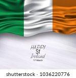 vector illustration of ireland... | Shutterstock .eps vector #1036220776
