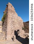 assos ancient city in ayvacik ... | Shutterstock . vector #1036253446