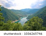 tara canyon in montenegro | Shutterstock . vector #1036265746