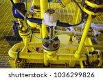 coriolis flow meter or mass... | Shutterstock . vector #1036299826
